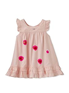 Sonia Rykiel Baby Ruffle Dress with Bloomers (Pink)