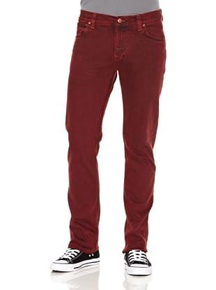 Nudie Jeans Pantalón Finn Red (Rojo)