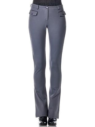Eccentrica Pantalón Acampanado (gris)