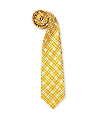 Olimpo Corbata Cuadros (Amarillo)