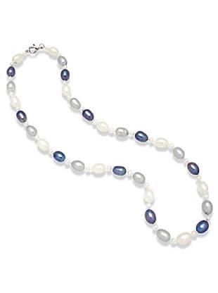 Nova Pearls Copenhagen Collar de Perla De Agua Dulce 3 - 6,5 mm