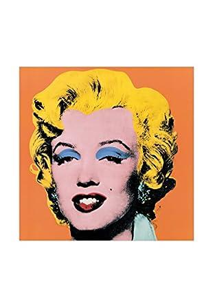 Artopweb Panel de Madera Shot Orange Marilyn, 1964