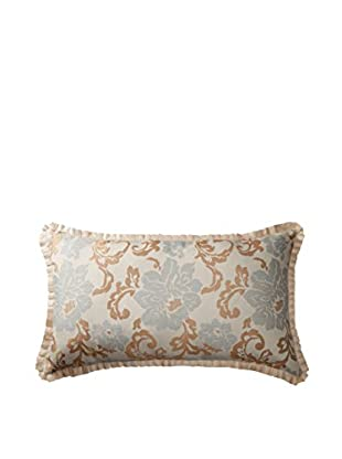 Belmont Home Kinsey Decorative Pillow (Spa Blue/Gold/Ivory)