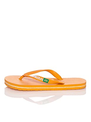 Brasileras Chanclas Brasilera Básica (Naranja)