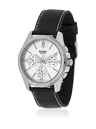 Casio Reloj con movimiento cuarzo japonés Man MTP-1375L-7A Negro