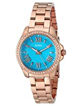 Fossil End-of-Season Cecile Analog Green Dial Women's Watch - AM4584