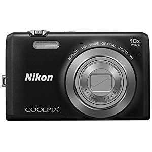 Nikon Coolpix S6700 20.1MP Point and Shoot Camera (Black) with 10x Optical Zoom