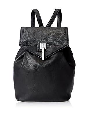 Danielle Nicole Women's Brooklynne Backpack, Black Lizard