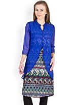 AYAANY Multi Color Printed Casual Kurta for women