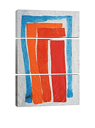 Heather Chontos Life Hidden in Ice Gallery Wrapped Triptych Canvas Print