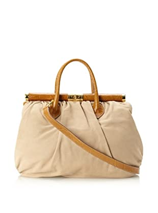 Merci Marie Women's Bianca Structured Tote (Tan)