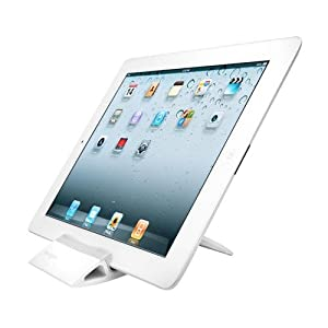 Kensington Chaise Universal Tablet Stand for iPad1 2 and iPad 3 and 7-10 Inch Tablets - White (K39536WW)