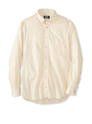 mens cream button down shirt is shirt
