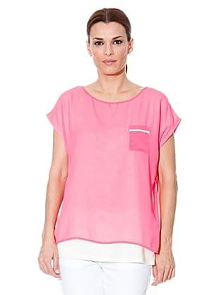 Cortefiel T-Shirt (Fuchsia)