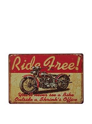 Lo+Demoda Panel Decorativo Vintage Ride Free