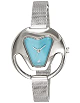 Fastrack Blue Dial Women's Analog Watch - 6103SM01