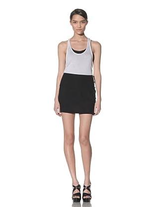 Ann Demeulemeester Women's Double Button Skirt (Black)
