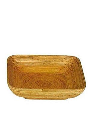 Kenay Plato Cuadrado Bamboo