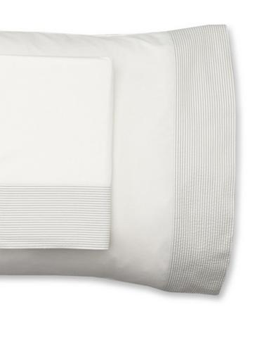 Mili Designs Pair of Sintra Pillowcases (Light Grey)