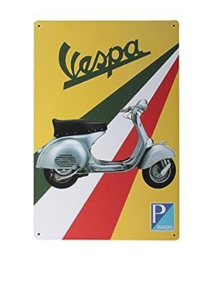 Lo+Demoda Wandbild Vintage Vespa Italia