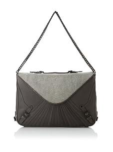 Rebecca Minkoff Women's Cali Envelope Shoulder Bag, Sting Ray