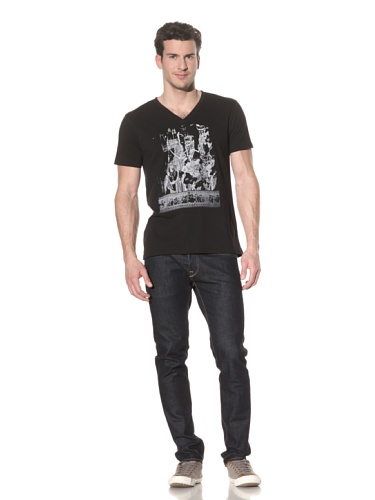 Tee Library Men's Emperor's New Clothes T-Shirt (Black)