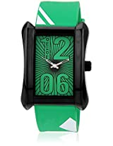 E-28476Pagb Two Tone/Green Analog Watch Maxima