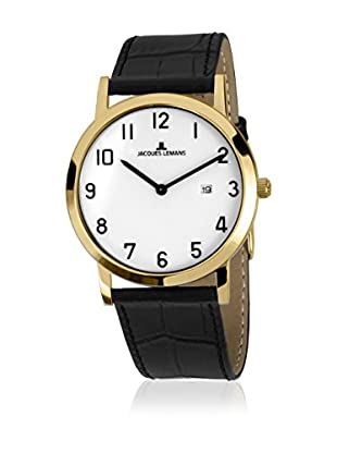 JACQUES LEMANS Quarzuhr Unisex Vienna 1-1727 40 mm