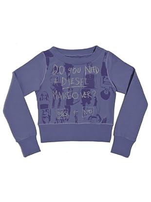 Diesel Kid Sweatshirt Junior Siatiu (Lavendel)