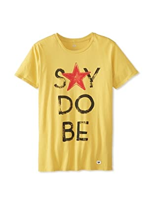 Thirty Nine Men's Say Do Be T-Shirt (Yellow)