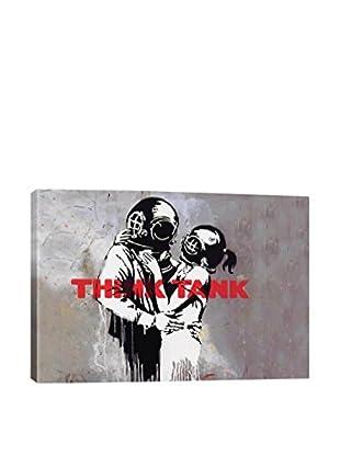 Bansky Blur Think Tank Album Cover Giclée On Canvas