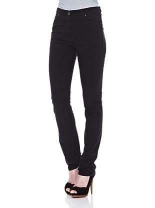 Carrera Jeans Pantalón Comfort Gabard.Stretch (Negro)
