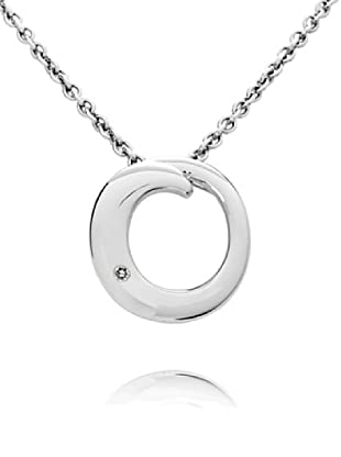 Secret Diamonds Colgante Círculo Plata 925 Diamante