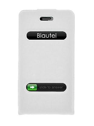 Blautel iPhone 4/4S Funda 4-Ok Slim Fit V Blanco