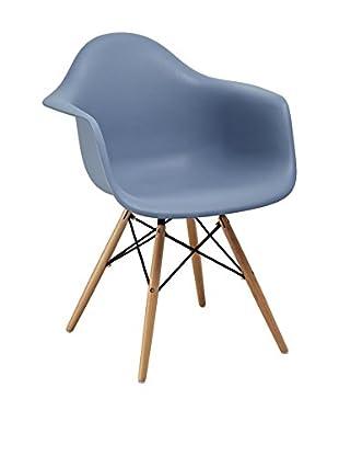 Lo+deModa Set Silla 2 Uds. Dimero Color Edition Azul