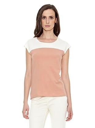 Cortefiel Camiseta Dos Colores (Maquillaje)