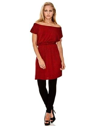 Springfield Vestido Corazones (Rojo)