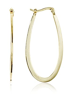 Fraydee Collection Long Oval Earrings