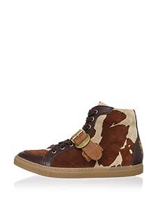Vivienne Westwood Men's Mid-Height Tiffany Urban Sneaker (Brown)