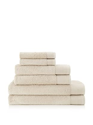 Schlossberg Sensitive 6 Piece Towel Set (Sand)