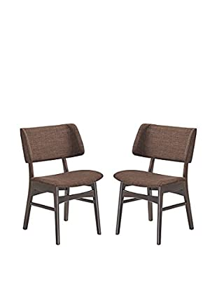 Modway Vestige Set of 2 Dining Side Chairs