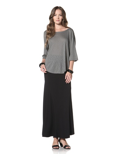 Twenty Tees Women's Half Sleeve Top (Ripe Olive)