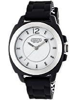 Coach Coach Boyfriend Silicon Rubber Strap Watch 14501353 - W914 Blk Wmn