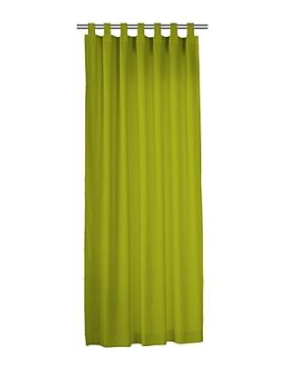 Euromoda Lencería Cortina Trabillas  Loneta (Verde Oliva)