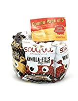 Soulfull Choco/Vanilla Fills -Pack of 6 (25gmsx6)