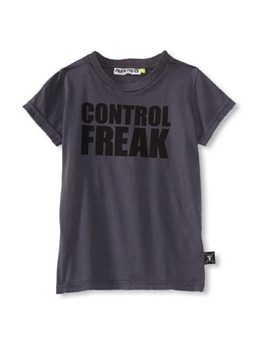 NUNUNU Kid's Control Freak Tee (Dark Grey)