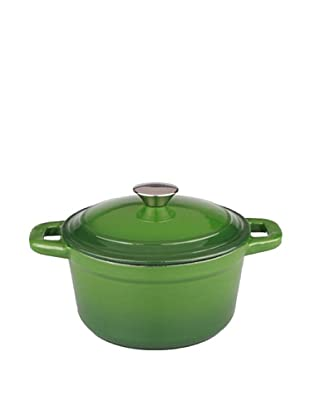 BergHOFF Neo 5Qt Cast Iron Round Covered Casserole, Green