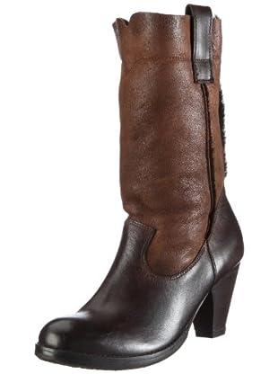 Buffalo London 1005 W 01 COW MONTONE 121272 - Botas de cuero para mujer (Marrón)