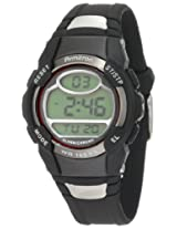 Armitron Sport Unisex 45/6975Red Chronograph Black Digital Watch