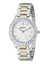 Fossil Analog Multi-Color Dial Women's Watch - ES2409